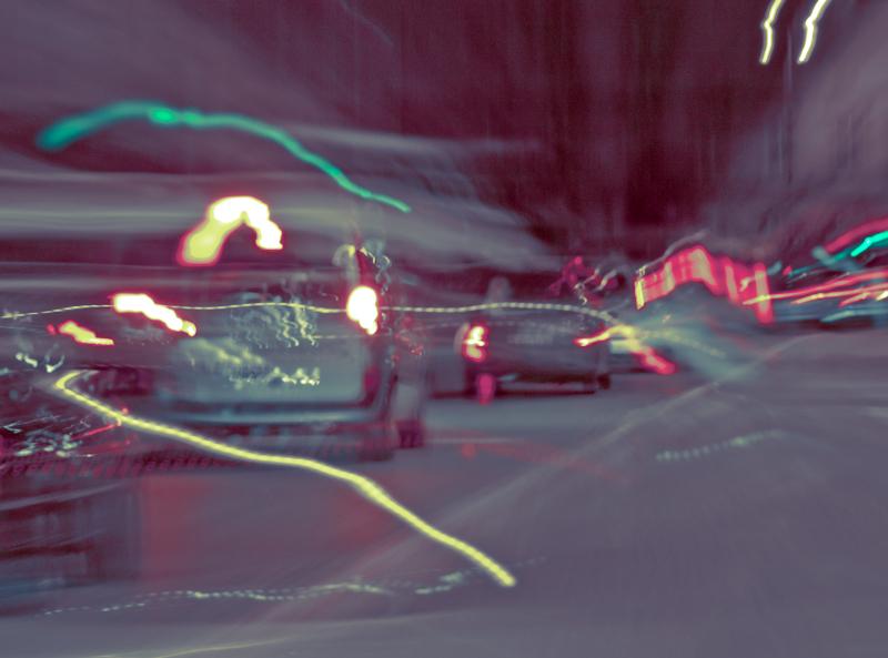 City Lights - traffic